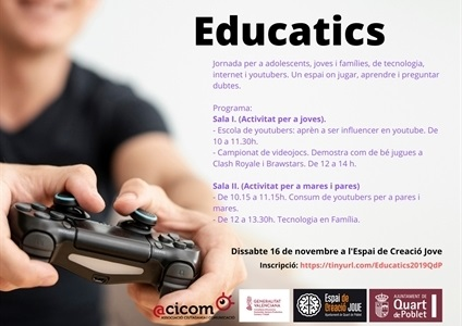 Educatics 2019 a Quart de Poblet