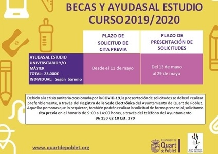 Ajudes Estudiants Universitaris i Master Quart