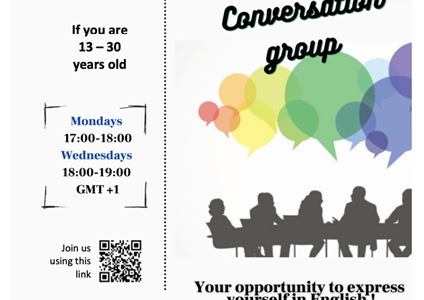 Conversation group for young people